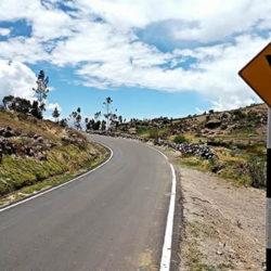 Gobierno entrega obras de carretera Quinua-San Francisco